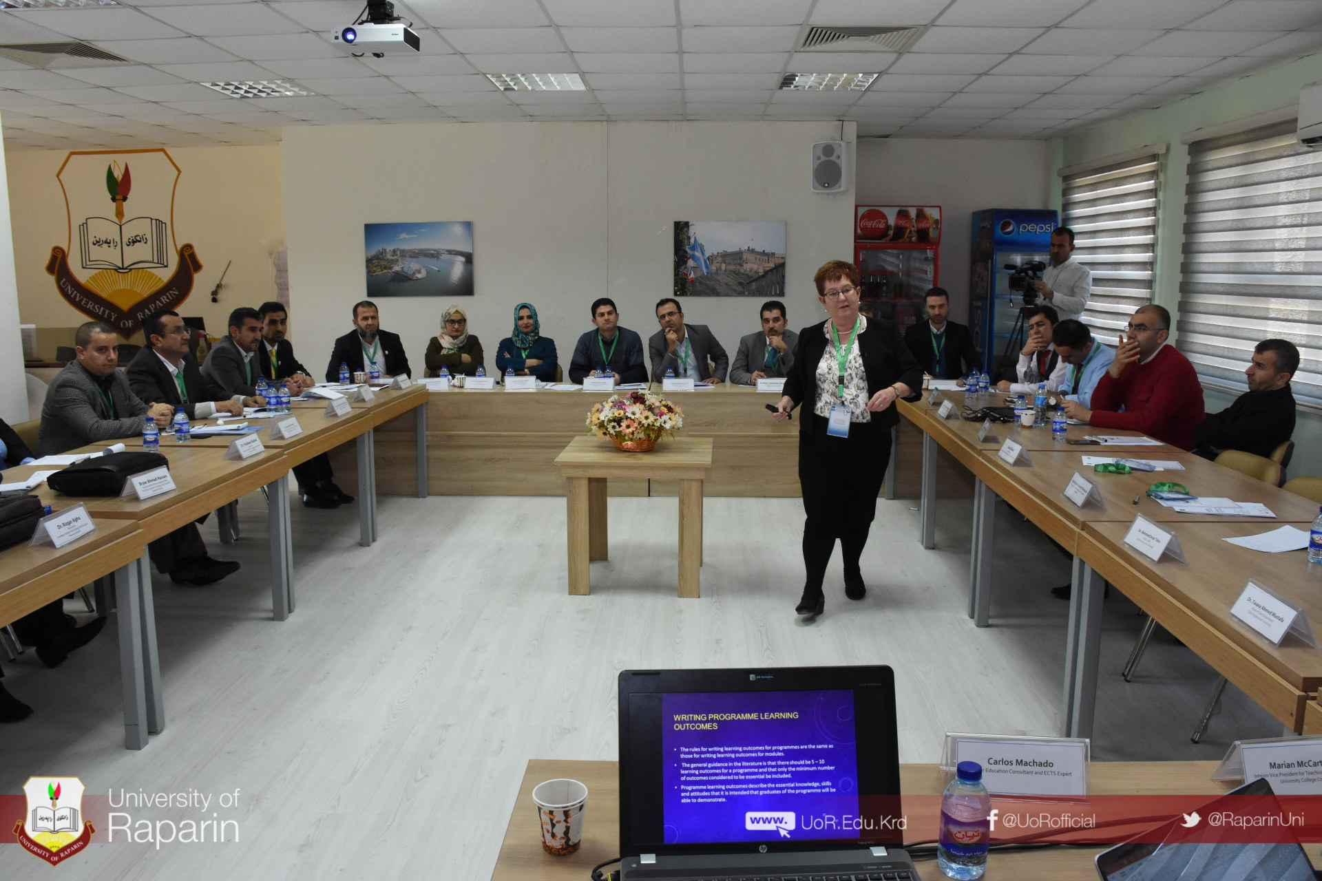 International workshop on the Implementation of ECTS in Kurdish HEIs at University of Raparin