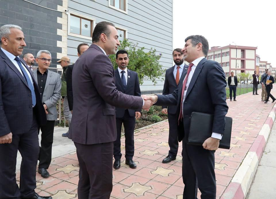Mr. Steve Fagin, U.S. Consul General visits the University of Raparin